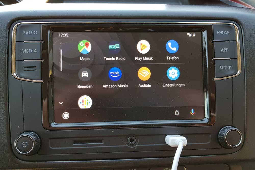Android Auto oder Apple Car Play